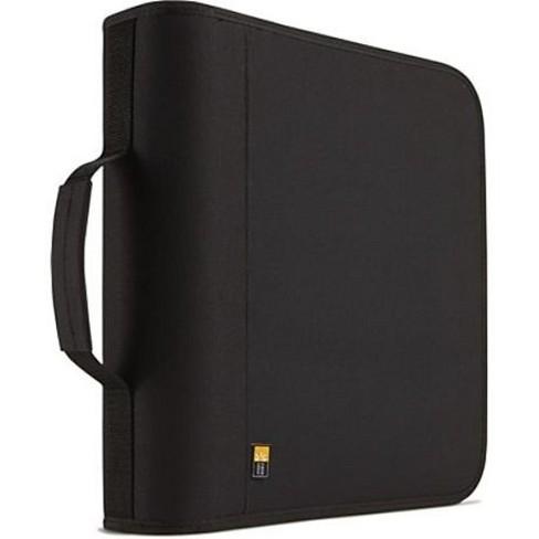 Case Logic BNB-208 Optical Disc Case - Binder - Nylon - Black - 208 CD/DVD - image 1 of 1