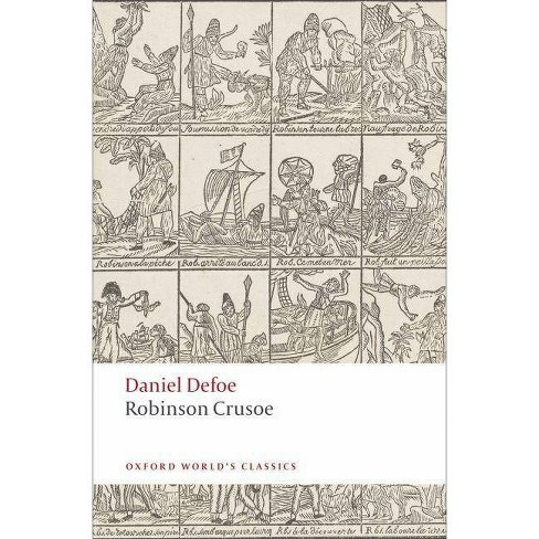 Robinson Crusoe - (Oxford World's Classics (Paperback)) by  Daniel Defoe & Thomas Keymer (Paperback) - image 1 of 1