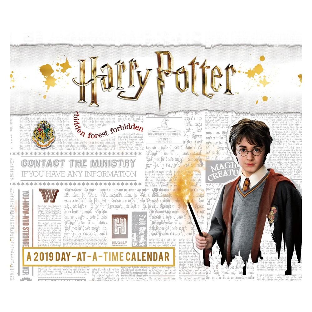 2019 Tented Desktop Calendar Harry Potter - Trends International, Multi-Colored
