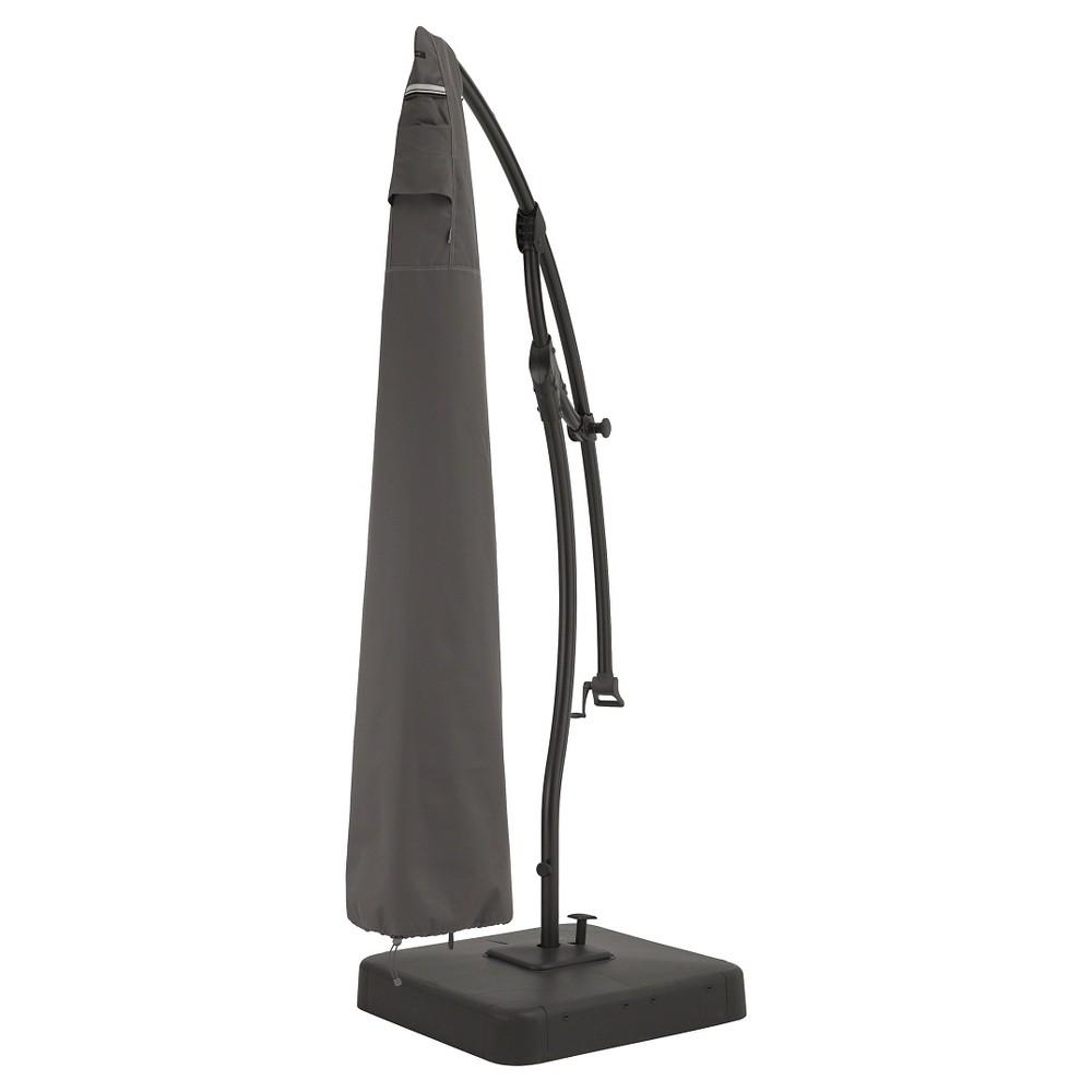 Classic Ravenna Offset Umbrella Cover-Dark Taupe, Dark Taupe