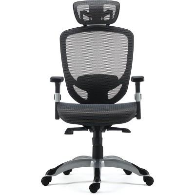 Staples Hyken Technical Mesh Task Chair Charcoal Gray 53293