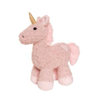 "Manhattan Toy Mon Ami Tinsel 10"" Unicorn Stuffed Animal"