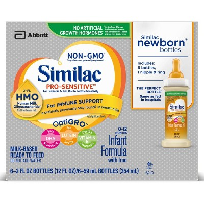 Similac 6pk Pro-Sensitive Infant Formula - 12oz