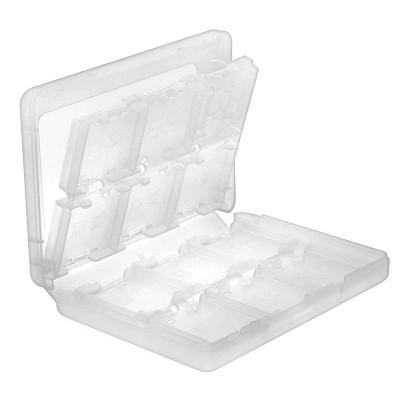 Insten 24-in-1 Game Card Case For Nintendo NEW 3DS / 3DS / DSi / DSi XL DSi LL / 3DS XL LL / DS / DS Lite NDS Game Storage Holder White