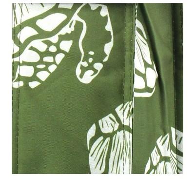 Zodaca Thermal Insulated Lightweight Wine Tote, Green Turtle