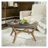 Wynn Round Coffee Table - Dark Gray - Safavieh - image 2 of 4
