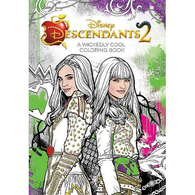 - Descendants 2 Wickedly Cool Coloring Book (Paperback) (Disney Book Group) :  Target