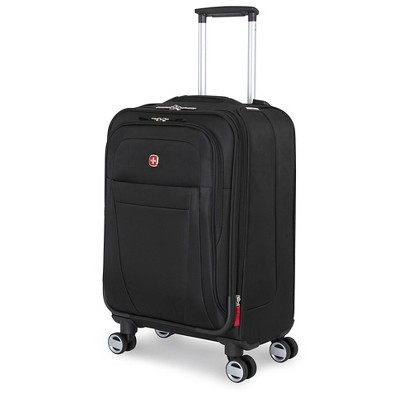 Swiss Gear Zurich 20  Carry On Pilot Case Suitcase - Black