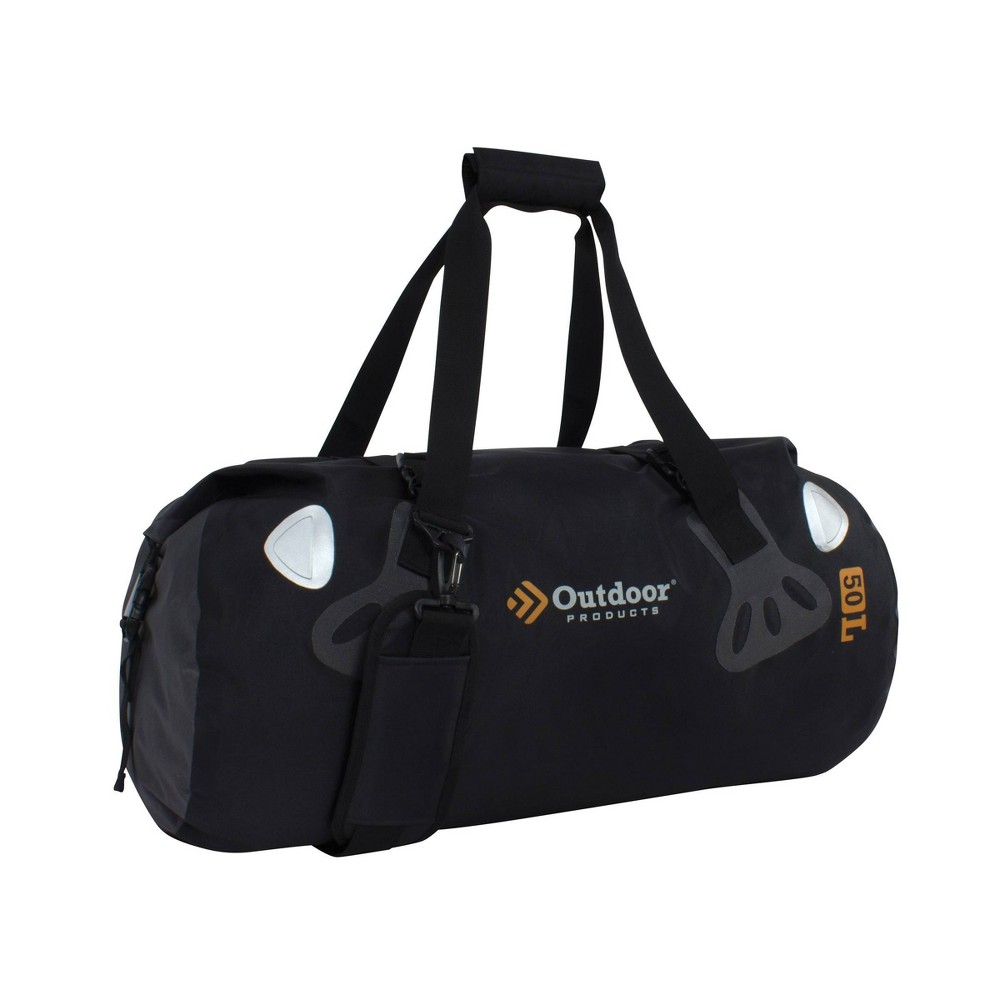 Image of Outdoor Products 50L Rafter Duffel Bag - Black