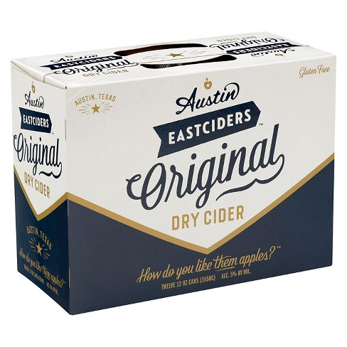 Austin Eastciders® Original Dry - 12pk / 12oz Cans - image 1 of 1