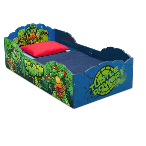 Nickelodeon Teenage Mutant Ninja Turtles Wood Toddler Bed - Delta Children - image 1 of 3