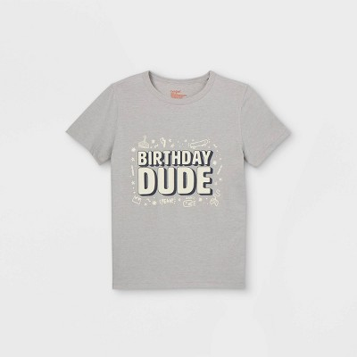 Boys' Adaptive Printed Short Sleeve Graphic T-Shirt - Cat & Jack™