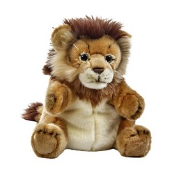 Lelly National Geographic Lion Stuffed Hand Puppet