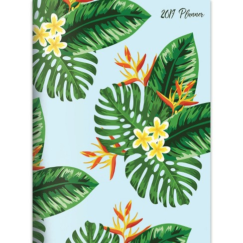 2019 Planner Tropical Leaves - TF Publishing - image 1 of 8