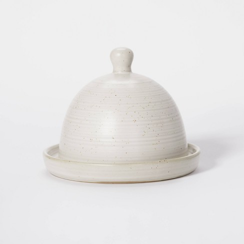 Stoneware Butter Dish - Threshold™ designed with Studio McGee - image 1 of 4