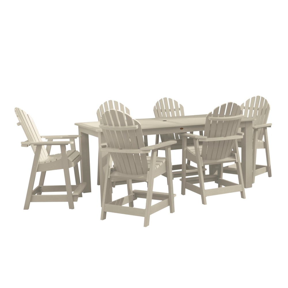 "Image of ""Hamilton 7pc Rectangular Counter Height Dining Set 84"""" X 42"""" Whitewash - Highwood, Off White"""
