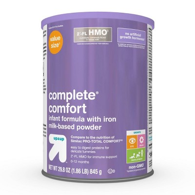 Complete Comfort Infant Formula Powder with Iron - 29.8oz - Up&Up™