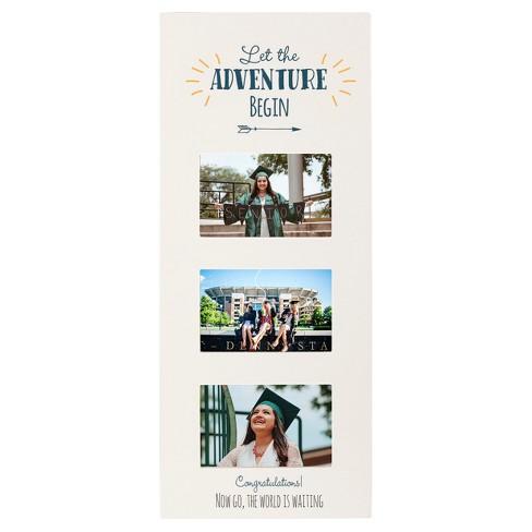 Graduation White Multi Photo Frame : Target
