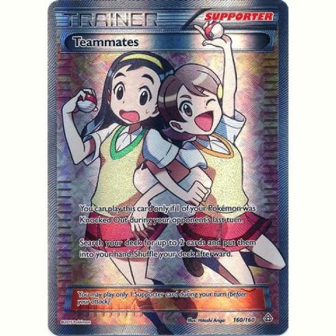 Pokemon X and Y Primal Clash Ultra Rare Full Art Teammates #160 - image 1 of 1