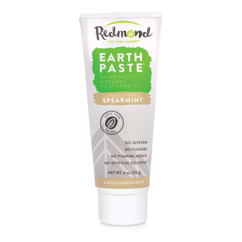 Image of Redmond Earthpaste Spearmint Toothpowder - 4oz