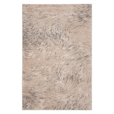 Marisol Wave Area Rug Ivory/Gray - Safavieh