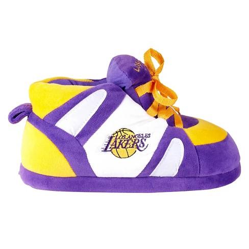 85073b2df224 Comfy Feet - NBA® Los Angeles Lakers Slipper-MD   Target