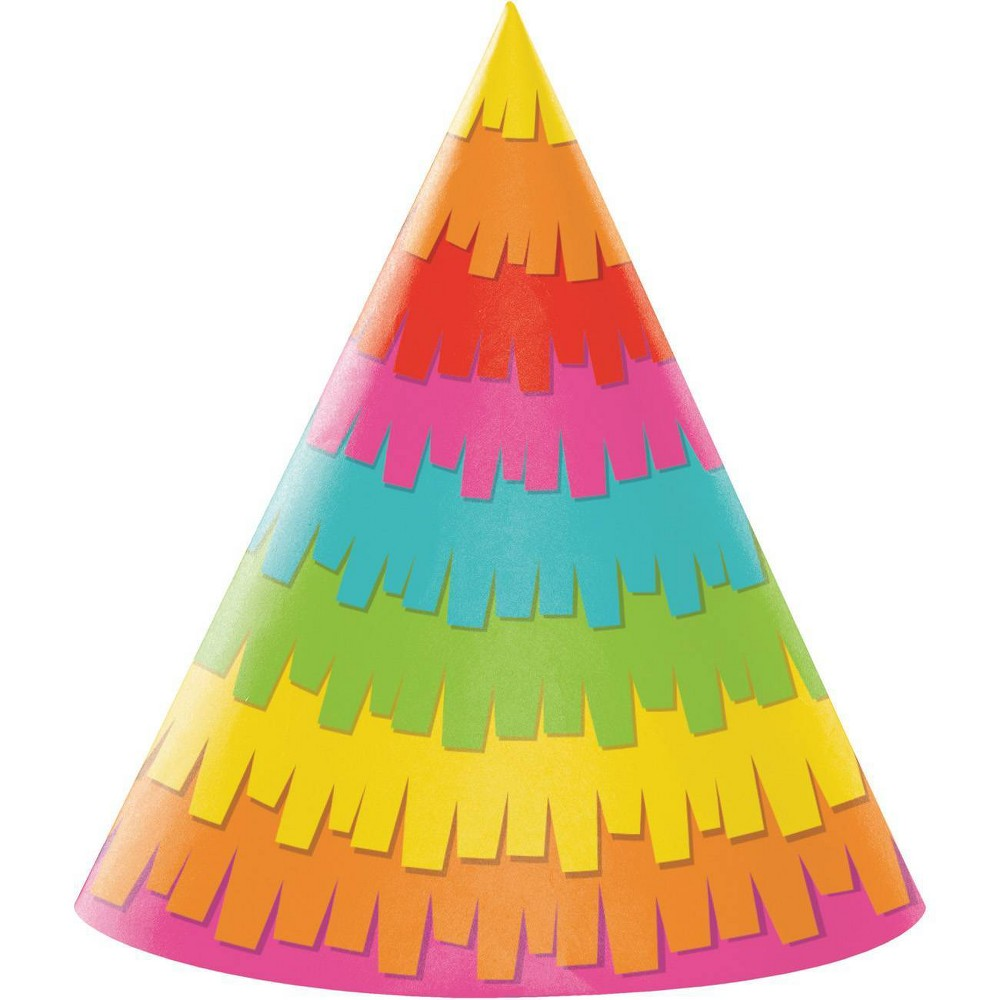 Image of 24ct Fiesta Fun Party Hats