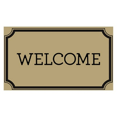 Welcome Estate Doormat (1'10 x3'11 )- Threshold™