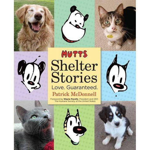 Mutts Shelter Stories - by  Patrick McDonnell (Paperback) - image 1 of 1