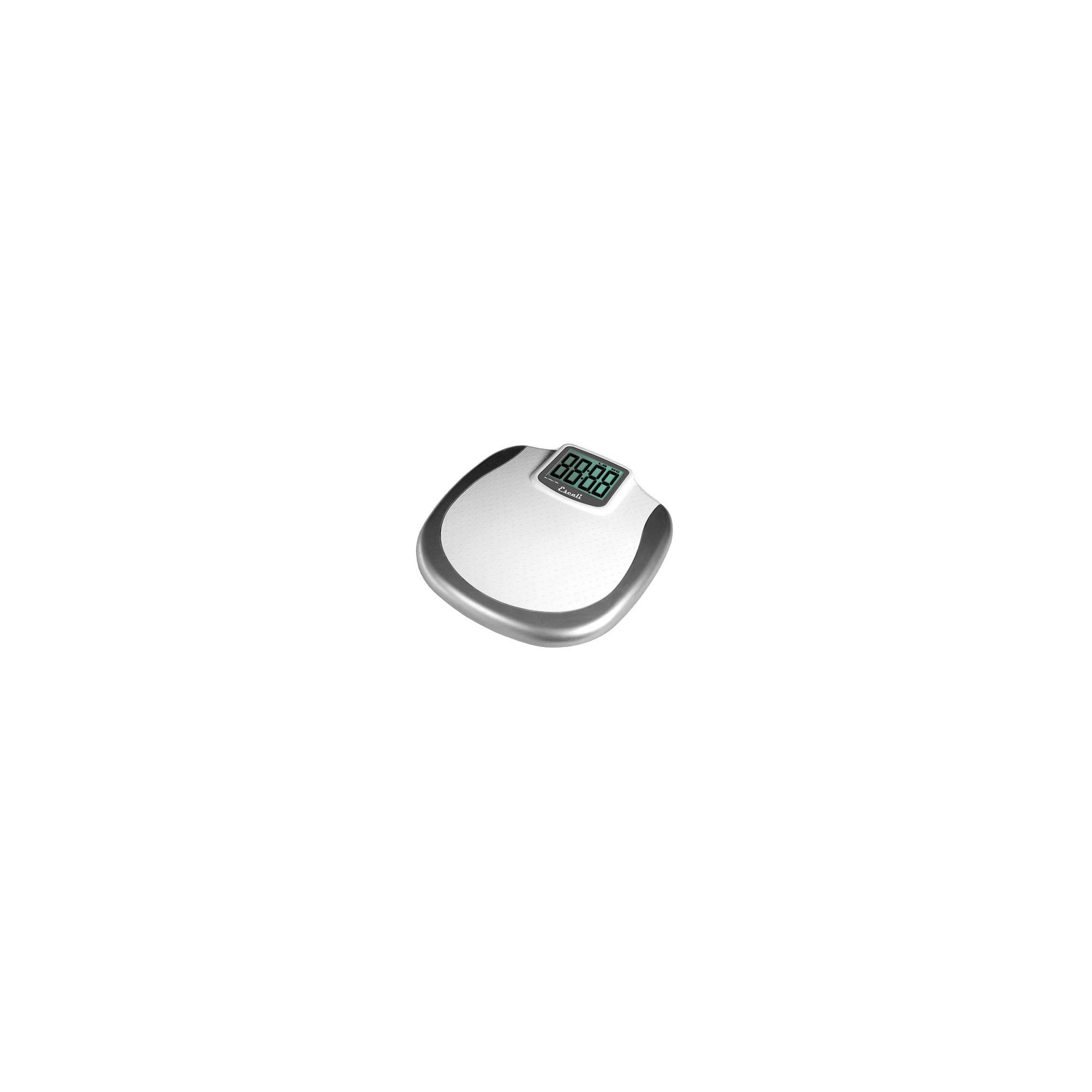 XL Display Bathroom Scale White/Silver - Escali