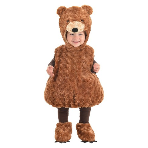 Teddy Bear Toddler Costume - 2T-4T - image 1 of 1