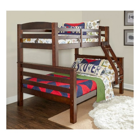 Twin Over Full Avery Bunk Espresso Brown - Powell Company