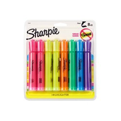 Sharpie Accent 8pk Highlighter Multicolor