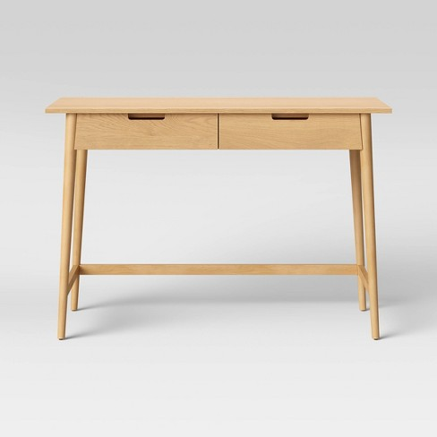 Ellwood Wood Writing Desk with Drawers - Project 62™ - image 1 of 4