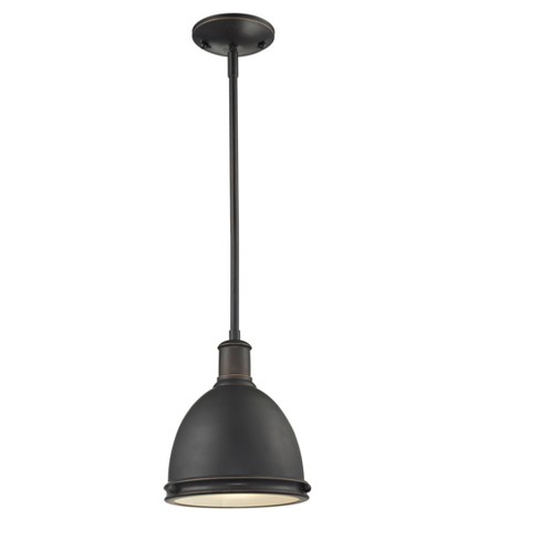Mini Pendant with Olde Bronze Glass Ceiling Lights - Z-Lite - image 1 of 1