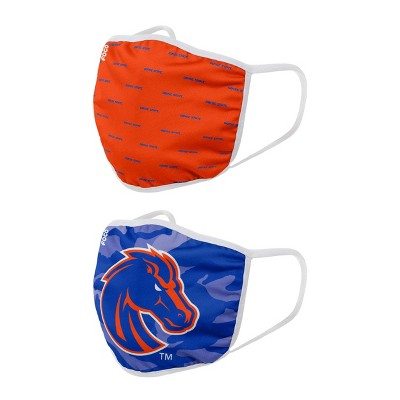 NCAA Boise State Broncos Adult Face Covering 2pk