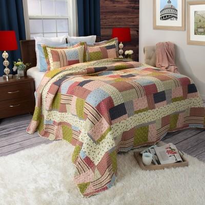 Savannah Quilt 3 Piece Set - Yorkshire Home