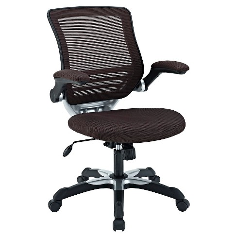 Office Chair Modway Dark Brown - image 1 of 4