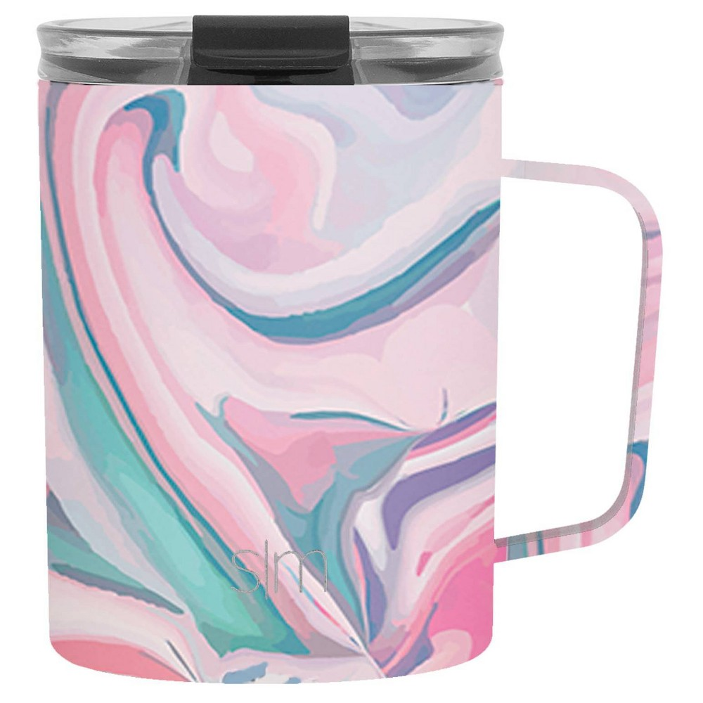 Image of Simple Modern 12oz Stainless Steel Pink Sea Coral Scout Stainless Coffee Mug