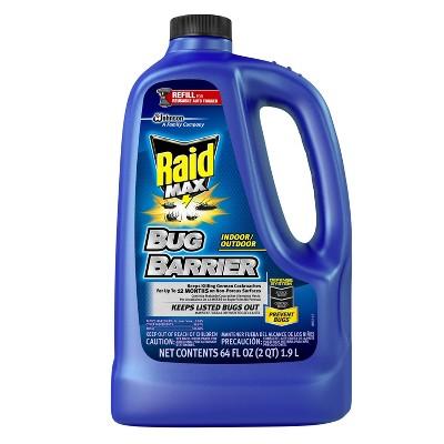 Raid Max Bug Barrier Trigger Refill - 64 fl oz