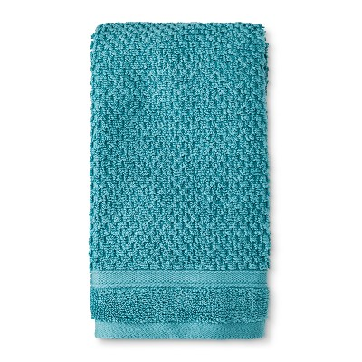 Performance Texture Hand Towel Teal - Threshold™