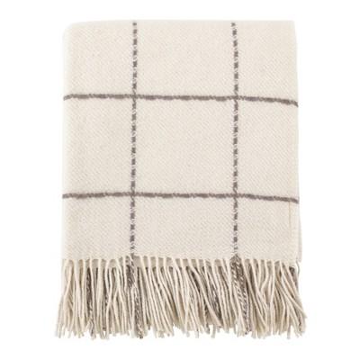 Throw Blankets Saro Lifestyle 50X60  Inches White Chocolate