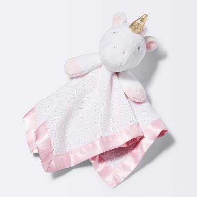 Small Security Blanket Unicorn - Cloud Island™ Light Pink
