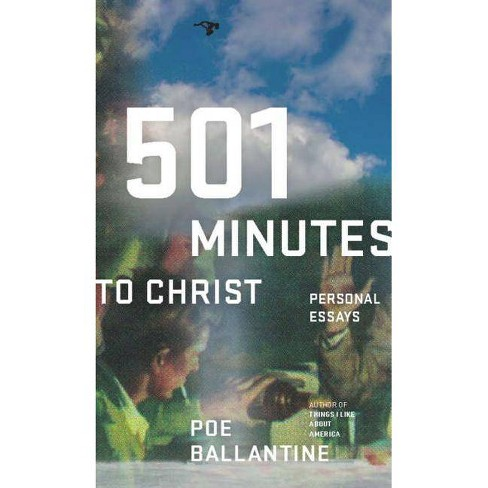 501 Minutes to Christ - by  Poe Ballantine (Paperback) - image 1 of 1
