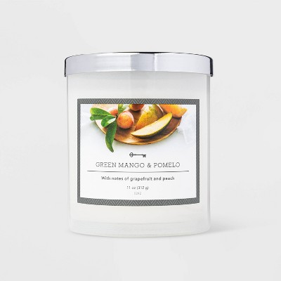 11oz Jar Green Mango and Pomelo Candle - Threshold™