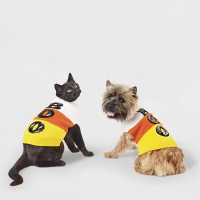 Candy Corn Dog and Cat Sweater - Hyde & EEK! Boutique™