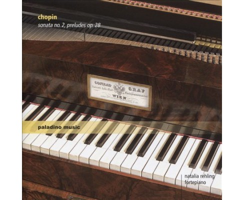 Natalia rehling - Chopin:Piano works (CD) - image 1 of 1