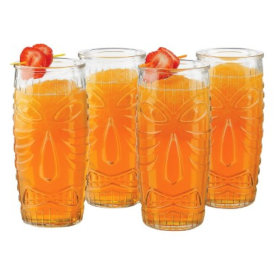 Libbey® Tiki Tall Tumblers 20oz - Set of 4