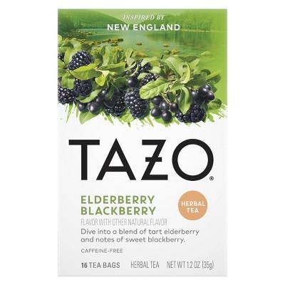 Tazo Foragers Elderberry Blackberry Tea - 16ct