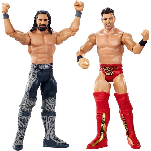 WWE Wrestlemania Battle Pack Seth Rollins vs The Miz Figure 2pk - image 1 of 4